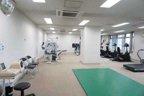 東京ツインパークスのフィットネスルーム