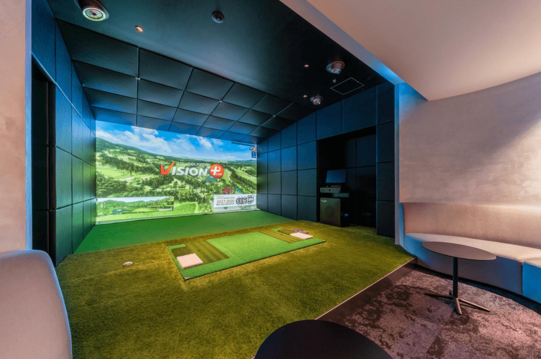 パークコート渋谷 ザ タワーのゴルフラウンジ