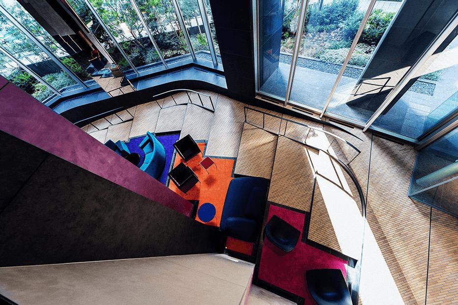パークコート渋谷 ザ タワーのクリエイティブステップラウンジ