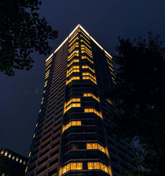 パークコート渋谷 ザ タワーの外観