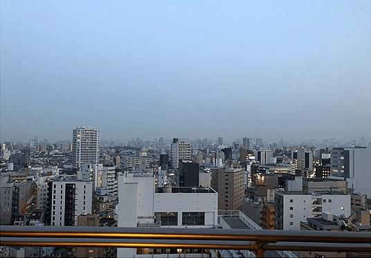 ステーションフロントタワーの眺望