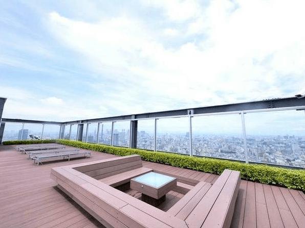 パークコート千代田富士見ザ タワーのスカイテラス