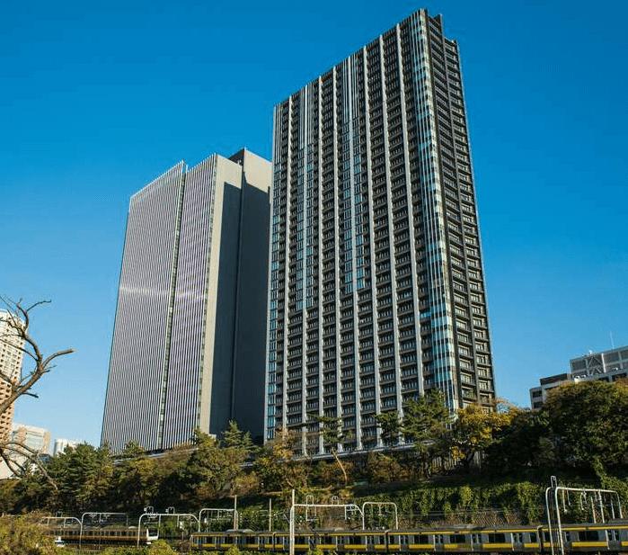 パークコート千代田富士見ザ タワーの外観