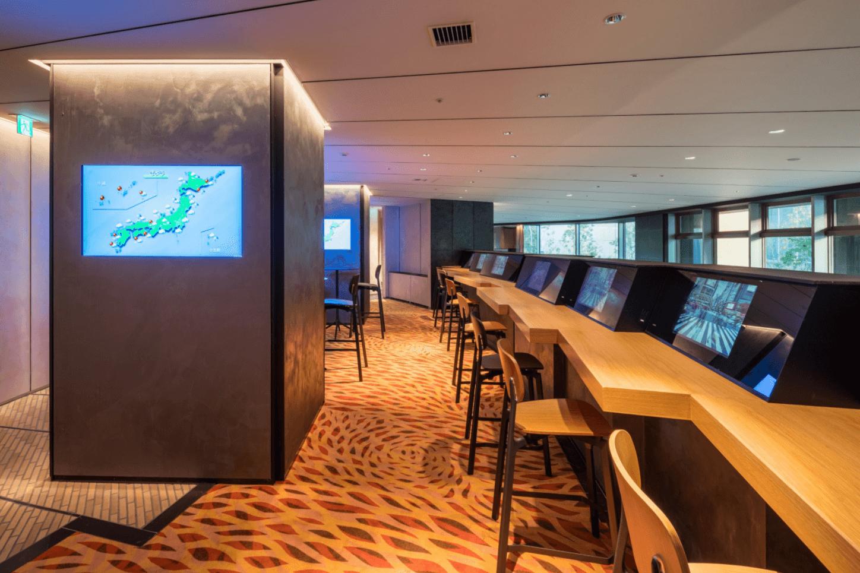 パークコート渋谷 ザ タワーのメディアラウンジ