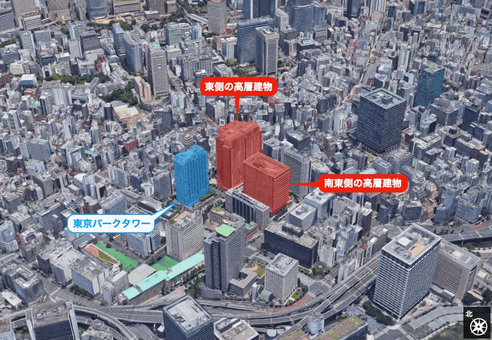 東京パークタワーの眺望