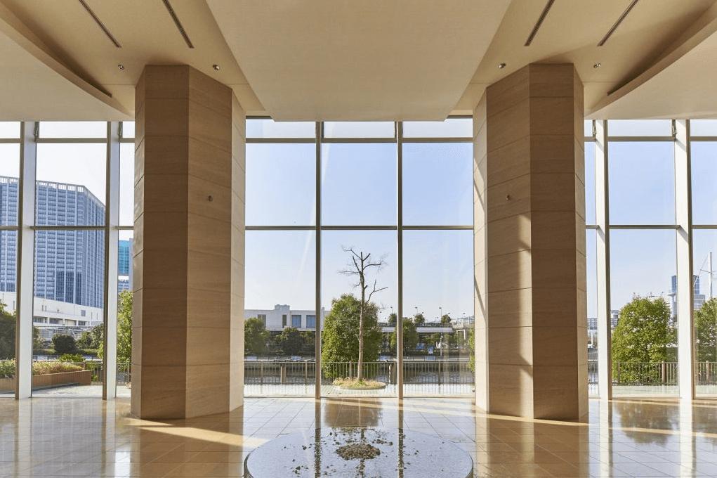 パークタワー品川ベイワードのエントランスホール