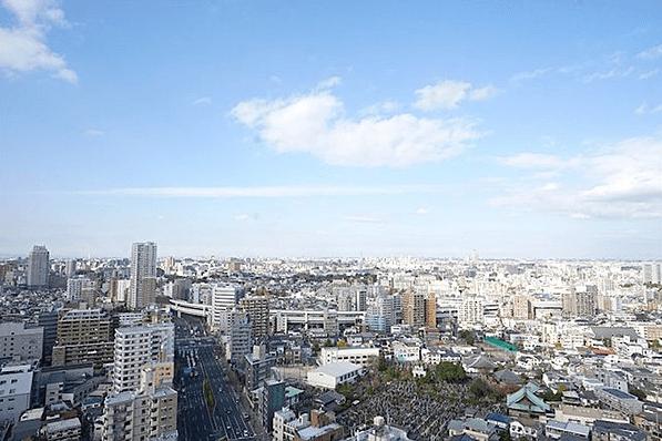 グローリオタワー巣鴨の眺望