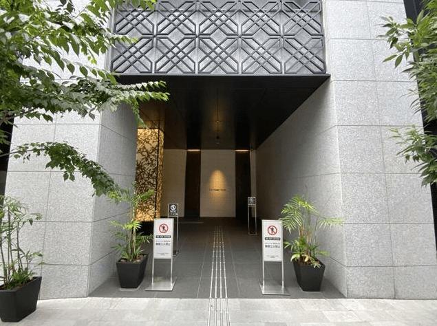 ザ・千代田麹町タワーのエントランス
